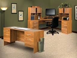 office depot desks and hutches computer desk l shaped with hutch