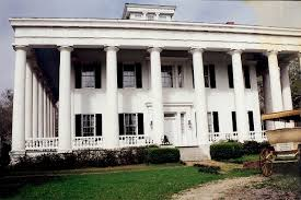 Old Southern Plantation House Plans Historical Southern Antebellum Plantations