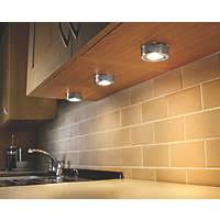 Led Kitchen Cabinet Downlights Kitchen Cabinet Lighting Kitchen Lighting Screwfix