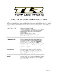 race car sponsorship proposal template it resume cover letter sample