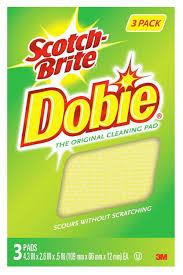 amazon com mmm7232f scotch brite dobie all purpose cleaning pad