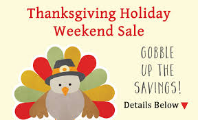 thanksgiving weekend sale details here