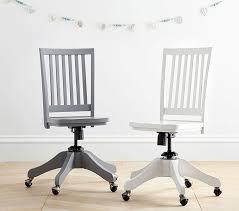 wooden rolling desk chair carolina swivel desk chair pottery barn kids