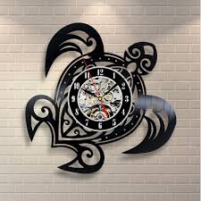 Vinyl Record Wall Mount Online Get Cheap Turtle Wall Clock Aliexpress Com Alibaba Group