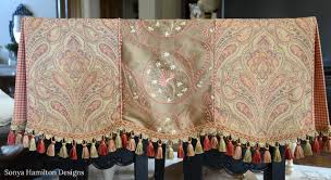 Pleated Valance Pleated Valance Scallops Pleats Piping It U0027s All In The Details