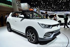 indian car mahindra mahindra undecided on the ssangyong x100 for india
