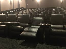 Reclining Chair Theaters New Lansdowne Theatre Offering In Seat Food And Wine Service
