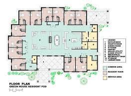 green house floor plan home cottages of wentworth healthcare rehabilitation center