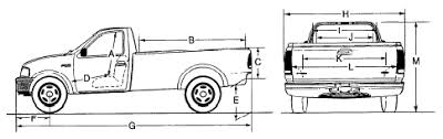 2012 ford f150 dimensions 2003 f150 dimensions page