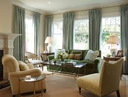 living room elegant large window living room design with green