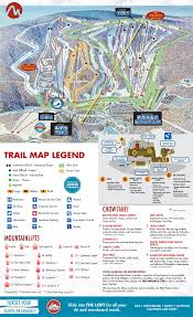 Italy Mountains Map by Camelback Mountain Resort Trail Map