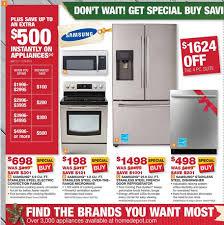 black friday chest freezer home depot home depot pre black friday appliance sale sunday wednesday 11