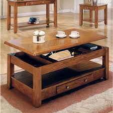 Coffee Table With Drawers by Amazon Com Logan Oak Lift Top Cocktail Table Kitchen U0026 Dining