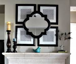 wall decor mirror home accents turquoise home decor vintage mirror