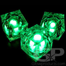light up cubes green light up cubes green led cubes glowproducts
