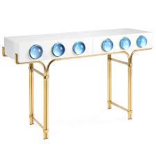 Jonathan Adler Bar Cabinet Jonathan Adler Globo Console Blue Candelabra Inc