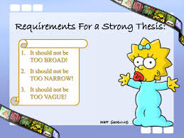 Examples Of Topic Sentences For Essays Lisa Simpson On Thesis Statements U0026 Topic Sentences Writing