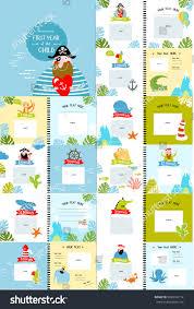 photo book cartoon characters children first stock vector
