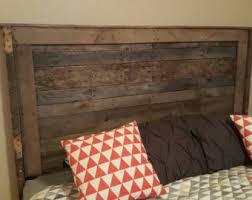 Wood Pallet Headboard Pallet Headboard Reclaimed Headboard Wood Headboard Wooden