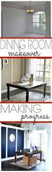 Making Dining Room Table Dining Room Makeover Making Progress First Home Love Life