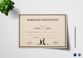 catholic marriage certificate marriage certificate template 12 word pdf psd format