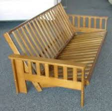 solid wood futon frame creative of futon wood frame and mattress futon with wood frame in