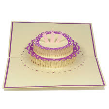 birthday cake pop up card pop up card custom cards wholsale