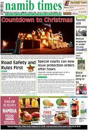 22 dec namib times e edition by namib times virtual issuu