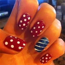15 easy u0026 simple fourth of july nail art designs ideas trends