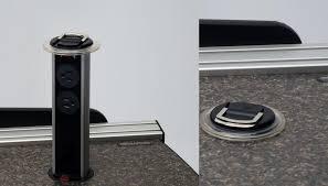 vanguard fixed height desks with monitor track martin u0026 ziegler