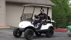 installing a lift kit on a yamaha golf cart youtube