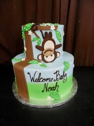 monkey baby shower cake baby shower cake ideas monkey diabetesmang info