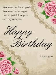 happy birthday wife cards u2013 gangcraft net