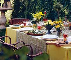 outdoor table decorating ideas being tazim