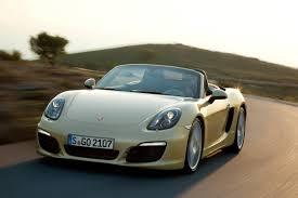 Porsche Boxster Convertible - all new 2013 porsche boxster gets aluminium body and a pair of