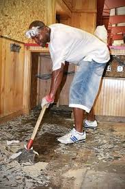 how to remove vinyl tile prepare a cement floor for painting