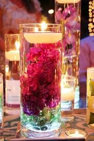 20 candles centerpieces table decorating ideas for