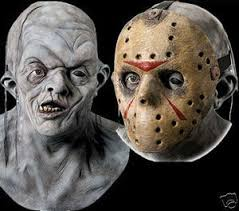 Jason Halloween Costume Friday 13th Movie Deluxe Double Jason Halloween Mask The Holiday