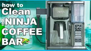 ninja coffee bar clean light keeps coming on best way to clean the ninja coffee bar youtube
