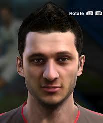 pes 2013 hairstyle cenk sahin face for pro evolution soccer pes 2013 made by egeberk