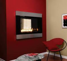 Tahoe Direct Vent Fireplace by Loft See Through Direct Vent Gas Fireplace With Rf Controls And