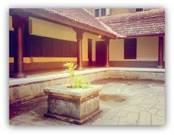 Home Courtyard Traditional South Indian Homes Thumbprinted