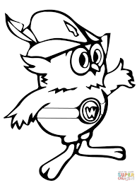 woodsy owl coloring page free printable coloring pages