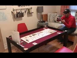 diy board game table custom diy board game table youtube