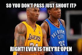 Funny Lakers Memes - kobe memes generate a meme using kobe and durant kobe mj
