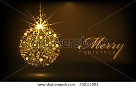 Decoration For Merry Christmas by Beautiful Decorative Shiny Xmas Ball Merry Stock Vector 116428057
