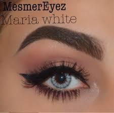 white eye contacts halloween grey contact lenses