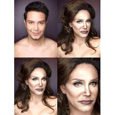 male insram makeup artist transforms into caitlyn jenner plus khloe and kris too see the photos paolo balllesteros
