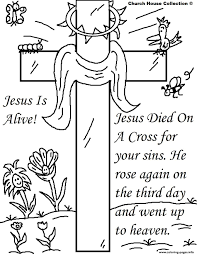 jesus easter resurrection coloring pages printable