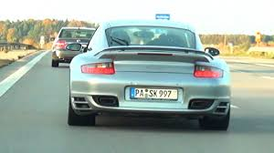 porsche 911 turbo sound bmw m3 e92 vs porsche 911 turbo on autobahn highway at 250 km h
